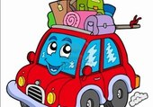 Puzzle voiture vacance