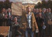Peinture des présidents US