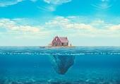 Puzzle Maison sur l'océan