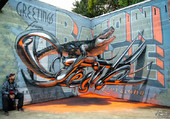 Louisiane Street Art 3D