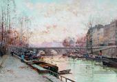 Le quai Eugène