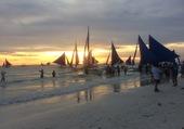 Coucher de soleil/Boracay/Philippines
