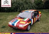 Puzzle Citroën BX Européenne