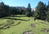randonneurs en Vallée d'Aspe