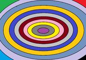 rond colorés