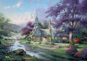 Clock tower Cottage  - Th. Kinkade
