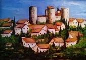 Puzzle village du languedoc