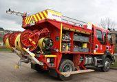Puzzle camion de pompier