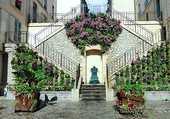 escalier de la rue Jean Rollin à Paris