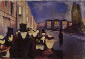 Munch-Street by night