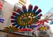 Puzzle Décoration de rue à Barcelone