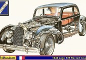 Talbot-Lago T26 Record Eclatée