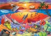jolis dauphins aux gagnes au loto