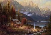 maison a la montagne