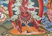 Dieu Népalais et la femme