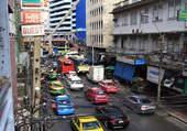 dans les rues de bangkok