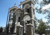 Clocher près Monastère de Kykkos