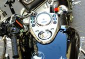 moto Déco Johnny Hallyday