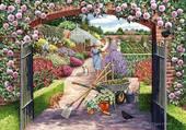 Puzzle Travaux au jardin