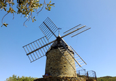 Joli moulin à COLLIOURE