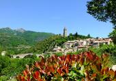 Olargues village fleuri
