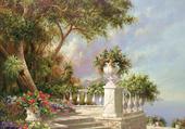 jolie villa italienne