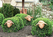 Sculture et jardinage