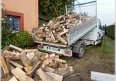 camion bois