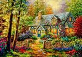 Maison en forêt