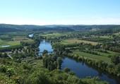 Puzzle paysage de la Dordogne