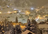 Neige dans la vallée