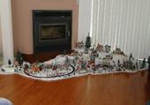 Puzzle village de noel