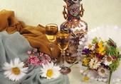 Fleurs et divin nectar