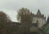 Château d'Oron/VD/Suisse