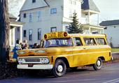 chevy apache suburban 1961 bus scolaire