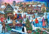 Puzzle Noël au village