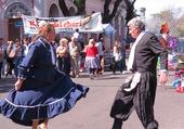 Couple de danseurs argentins
