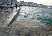 Grande marée dans le port du Croisic