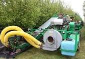 machine pour ramasser les prunes