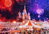 Moscou à Noël - K. Makeeva