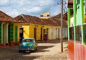 Puzzle les ruelles colorées de Trinidad