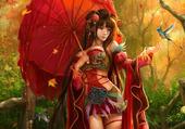 la fée rouge