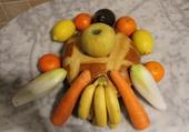 Fruits légumes et gâteaux