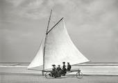Char à voile 1900