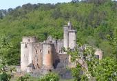 château de Bonaguil en Lot et Garonne