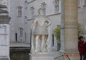 Pau - Statue d'Henri IV au château