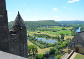 La Dordogne vue de Beynac