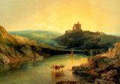 chateau sur la Tweed par Turner
