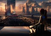 Science fiction - femme cybernétique