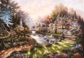 paysage romantique